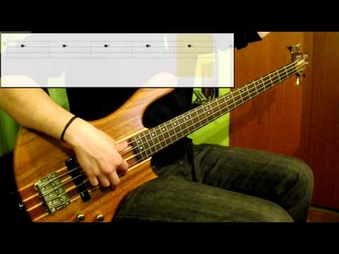 Michael Jackson - Get On The Floor (Bass Cover) (Play Along Tabs In Video)