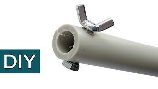 Крутые самоделки из пластиковых труб. Инструменты и приспособления. Полезные советы.#Стройхак