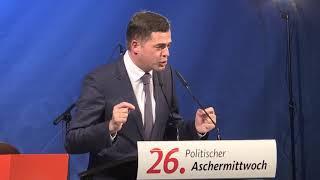 Highlights politischer Aschermittwoch 2018 der CDU Thüringen