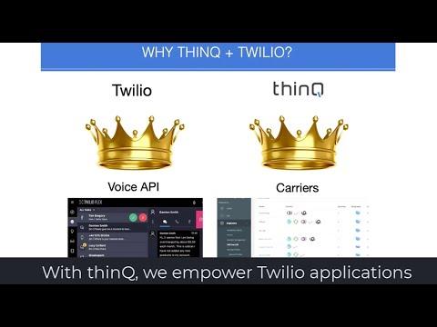 Twilio Voice Add-On - thinQ