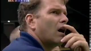 World Championship 1998 Semifinal: Brazil x Cuba