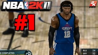"NBA 2K11 MyCAREER Part 1 - ""Creation Of Issac Reid"""