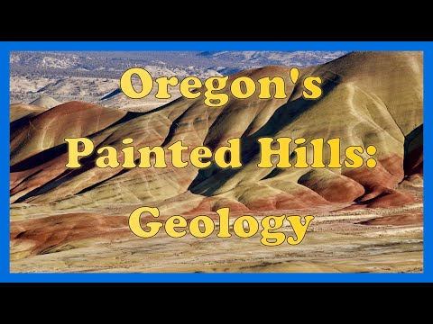 How the Painted Hills got painted!