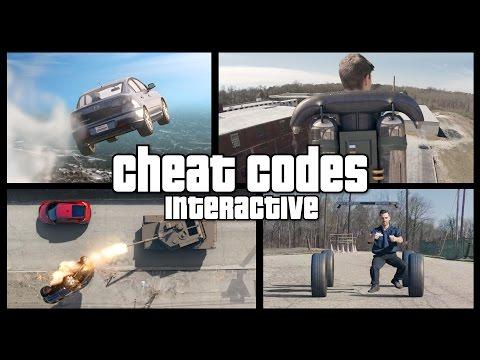Real Life GTA V Cheat Codes - INTERACTIVE