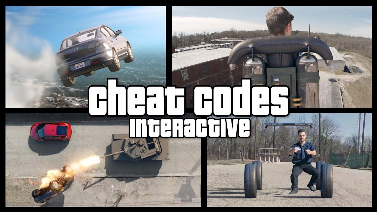 Real Life Gta V Cheat Codes - Interactive - Youtube-8565
