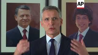 NATO chief: Russian cruise missiles violate anti-nuclear treaty