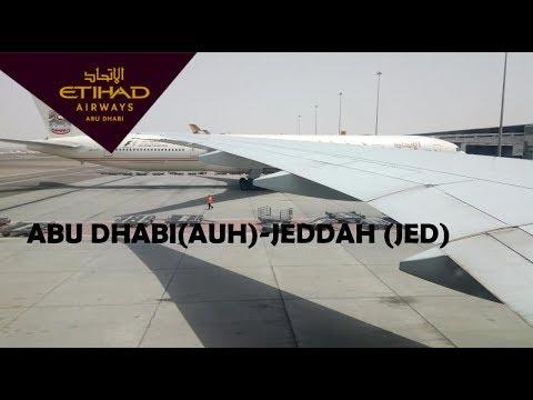ETIHAD AIRWAYS ABU DHABI TO JEDDAH EY311