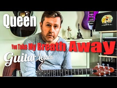 Queen - You Take My Breath Away - Fingerstyle Guitar Lesson (Guitar Tab)