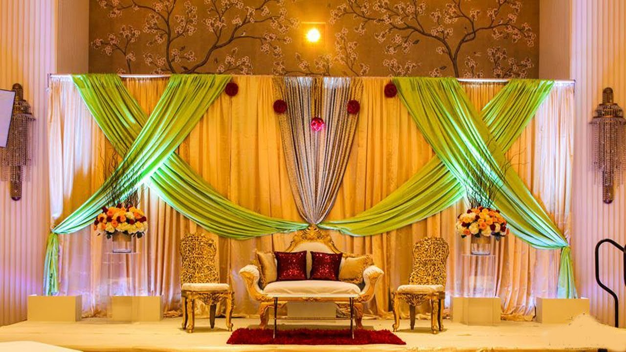 Mehndi Stage Decoration At Home Mehndi Stage Design Ideas Youtube