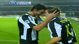 Juventus vs Real Madrid Goal DEL PIERO!! تعليق عدنان حمد