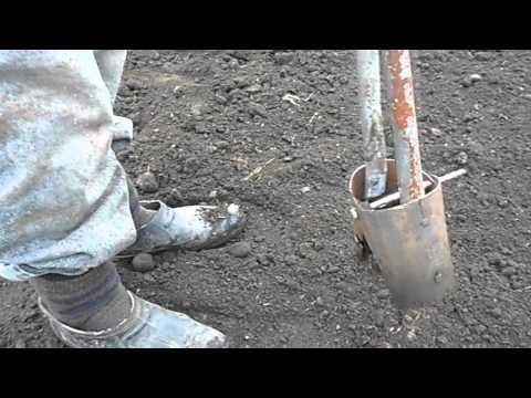 видео: приспособление для высадки растении