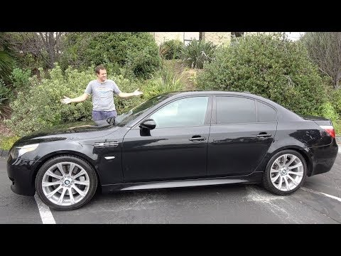 E60 BMW M5 это лучшая машина, которой вы никогда не должны владеть