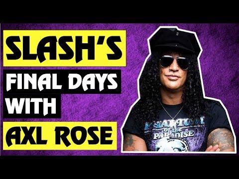 Guns N' Roses: Axl Rose and Slash's Final Rehearsals!