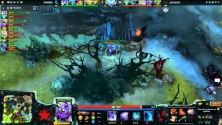 The Alliance vs NewBee , WCA WB Final, Game 2