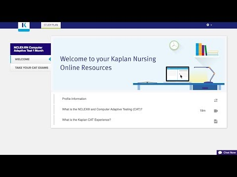Kaplan's NCLEX® Computer Adaptive Test - YouTube