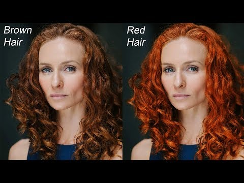 How to Change Hair Color with Curves in Photoshop - Quick Coloring Tips & Tricks