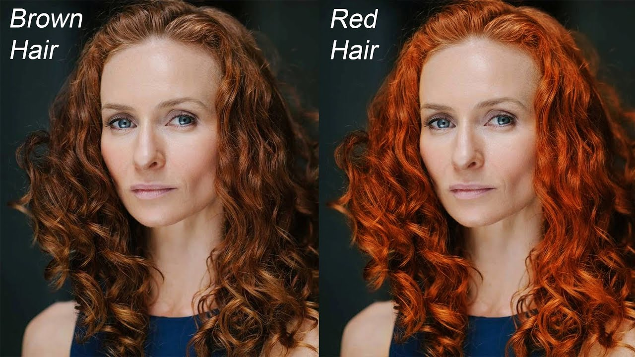 How To Change Hair Color With Curves In Photoshop Quick Coloring