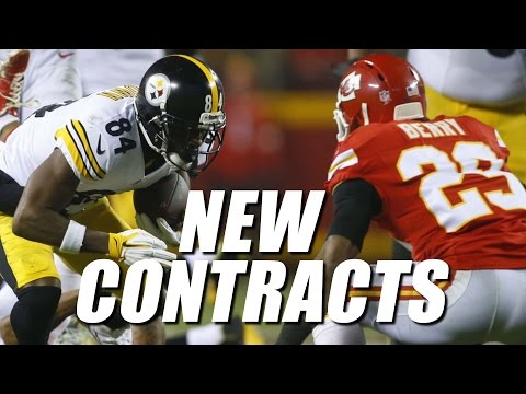 Antonio Brown & Eric Berry Get Paid