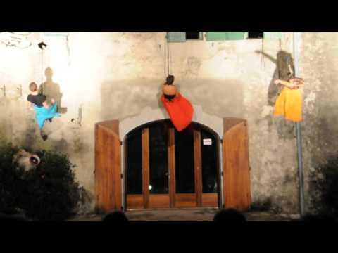 spectacle danse verticale à Claret (2)