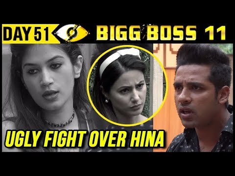 Bandgi & Puneesh UGLY FIGHT Over Hina Khan | Bigg Boss 11 Day 51 | 21st November 2017 Episode Update