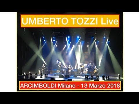 Umberto Tozzi Live - Arcimboldi (Milano) - 13 Marzo 2018