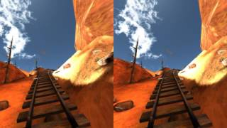 Google Cardboard Video   Best VR Roller Coasters 3D SBS 1080p