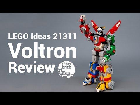 LEGO Ideas BIGGEST set ever: 21311 Voltron REVIEW