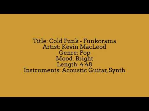Cold Funk - Funkorama - Kevin MacLeod | YouTube Audio Library | No Copyright