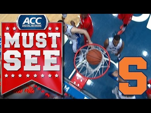 Syracuse Gets Crazy Tip-In Shot To Drop | ACC Must See Moment