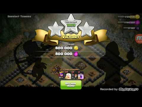 Clash Of Clans: Sherbet Towers - TH 9