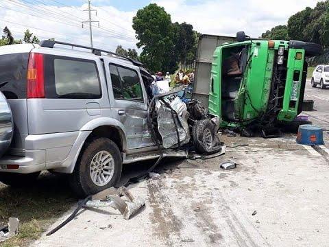 Ford Everest vs fish car sa Polonuling, Tupi, South Cotabato Feb 25, 17