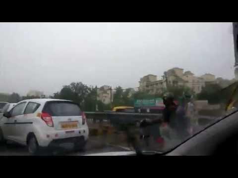 Gurgaon during rains