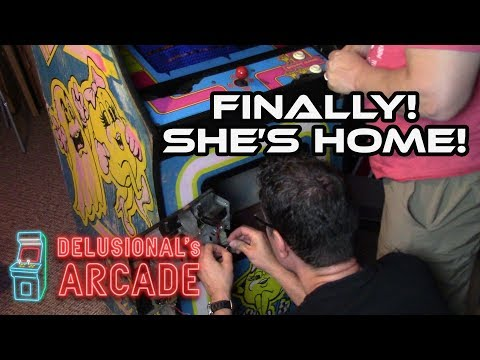 Ms. Pac-man Arcade Game Get [Upright]