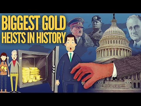 The Biggest Gold Heists In History... Gold Confiscation