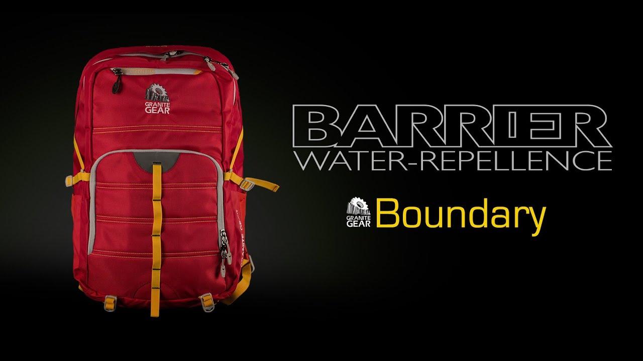 dee797661d BARRIER Boundary Backpack (Granite Gear) - YouTube