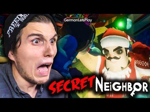 So viel ANGST hatte ich noch NIE ✪ Secret Neighbor (Hello Neighbor MULTIPLAYER)