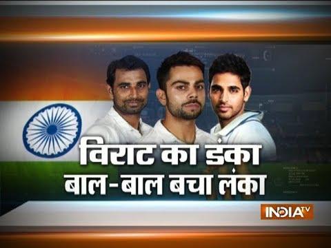 Ind vs SL 1st Test : Virat Kohli Hammers 50th International Century