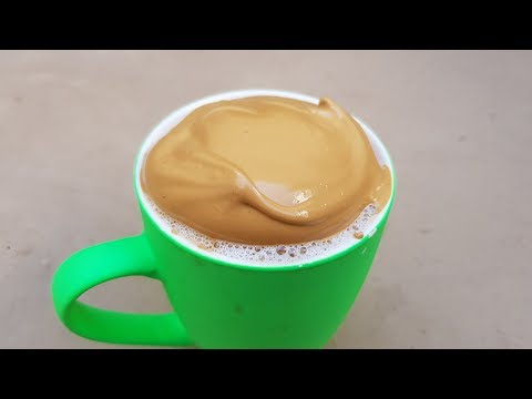 Cappuccino At Home Only 3 Ingredients Cappuccino Coffee Recipe By Mubashir Saddique | Village Food
