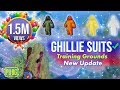 PUBG MOBILE - (Snow Ghillie) GHILLIE LOCATIONS - PROOF - Training Grounds - Full HD 1080p 60fps
