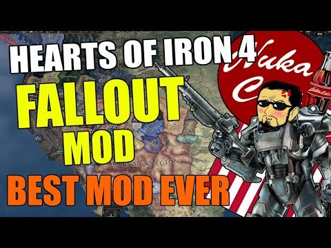 Hearts Of Iron 4: Fallout Mod - Best Mod EVER