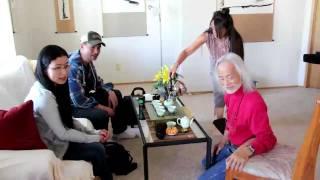 Meeting Alok Hsu Kwang-han, a Zen Calligraphic Painting Master in Sedona, AZ