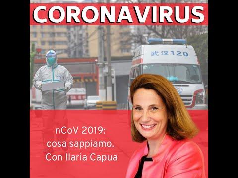 Coronavirus - nCoV 2019: cosa sappiamo. Con Ilaria Capua