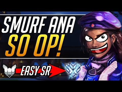 SMURF ANA  Pro Ana Tips Gameplay Guide  Overwatch Guide