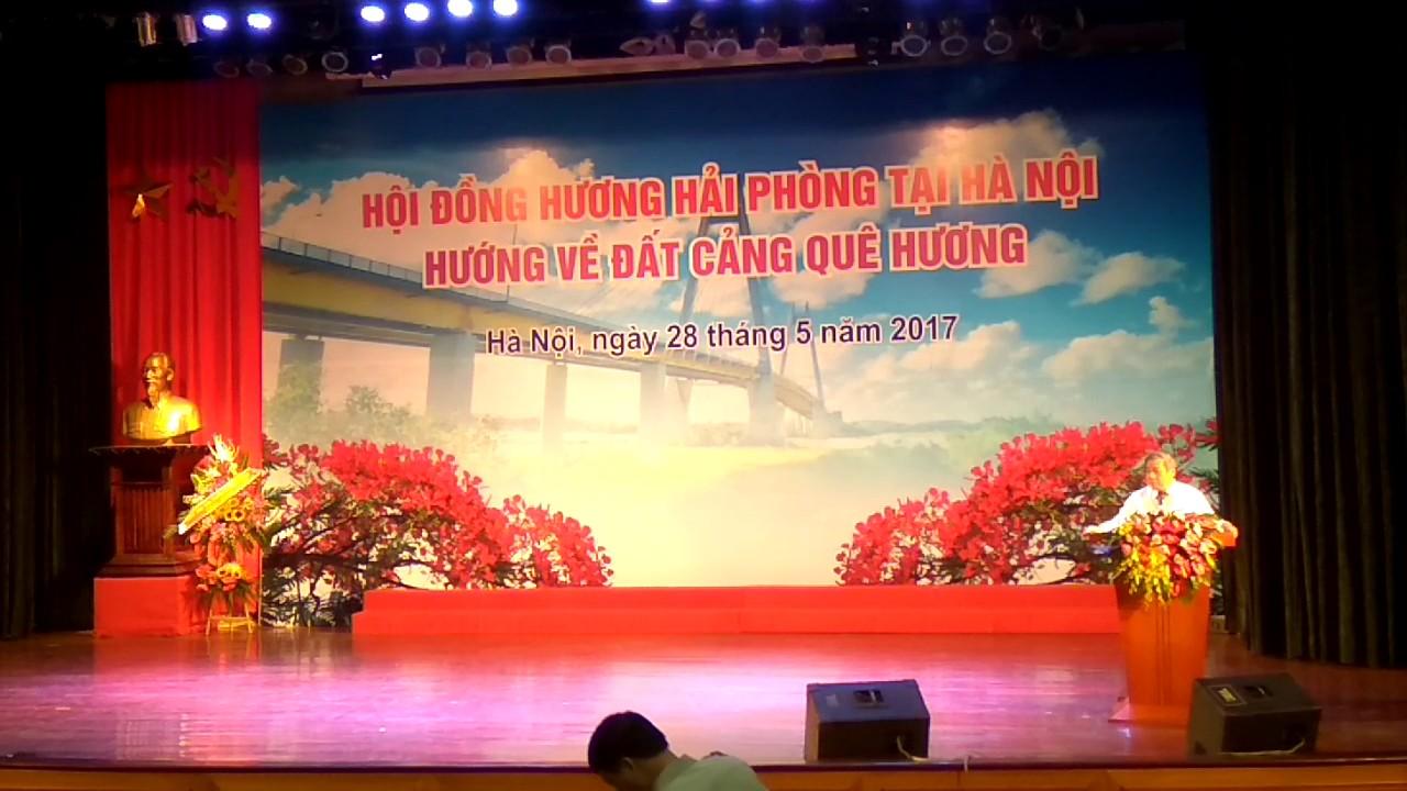 Bài nói chuyện của GS Vũ Minh Giang về con người Hải Phòng