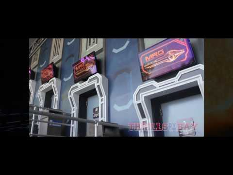 Mass Effect New Earth Media Day - California's Great America - Ride POV and Opening Ceremony