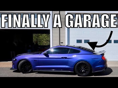 HERE'S MY DREAM GARAGE FOR THE 2020 SHELBY GT500 & MY 2018 MUSTANG GT!