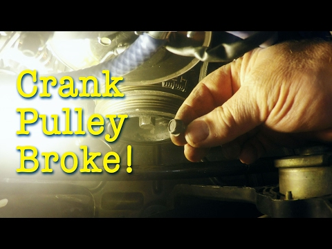 Crankshaft Pulley Repair on the Boosted Miata