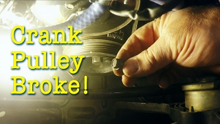 homepage tile video photo for Crankshaft Pulley Repair on the Boosted Miata