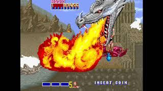 Golden Axe ゴールデンアックス Arcade cheat アーケード チート ノーミス 時間短縮 最速 Fastest TAS