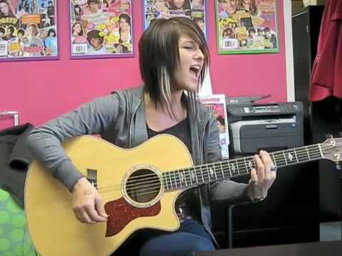 Cassadee from Hey Monday Sings Live!